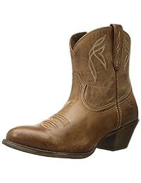 fd3e6dc41 Ariat Women's Darlin Western Fashion Boot, Burnt Sugar, 9.5 B US