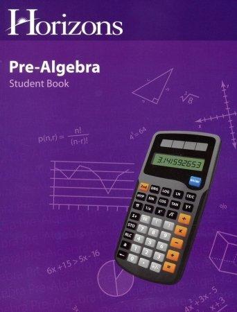 Alpha Omega Publications JMS071 Horizons Pre-Algebra Student Book