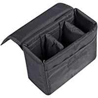 S-ZONE Waterproof DSLR SLR Camera Insert Bag Camera Inner Case Bag for Sony, Canon, Nikon, Olympus