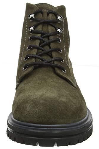 Verde Alto A 3 dark Stonefly Alex Velour 323 Uomo Olive Collo Sneaker w8xxqpWnA