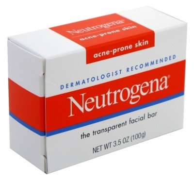 Neutrogena Acne-Prone Facial Bar 3.5 Ounce Box (103ml) (3 Pack) Neutrogena Acne Soap