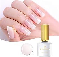 Born Pretty 1 Bottle 6ml Opal Jelly Gel White Soak Off Manicure Nail Art UV Gel Polish…