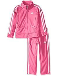 Girls' Tricot Zip Jacket and Pant Set