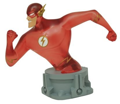 SDCC 2017 Exclusive DC Justice League Animated Flash (Speed Force Variant) Resin (Variant Bust)