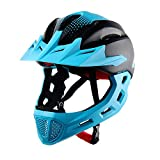 Kids Helmets Children's Multi-Sport Safety Bike Helmets Cycling Skating Scooter for Girls/Boys(48-58cm,5-14 Year Old) (Color : Blue)