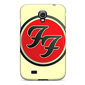 Samsung Galaxy S4 Cfi5186fbbo Unique Design High Resolution Foo Fighters Pattern Excellent Cell-phone Hard Cover -RichardBingley