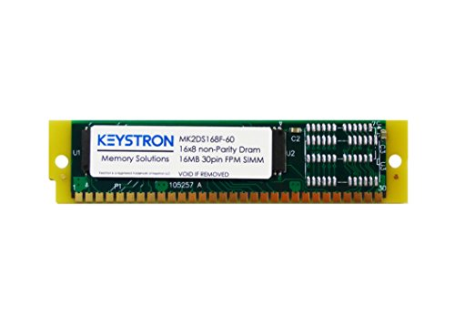 16MB 30pin non-Parity SIMM RAM MEMORY 60ns for Apple, macintosh, Musical sampler, old PC, Video controller
