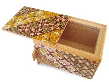 Yosegi Puzzle Box 3 sun - 7 steps -
