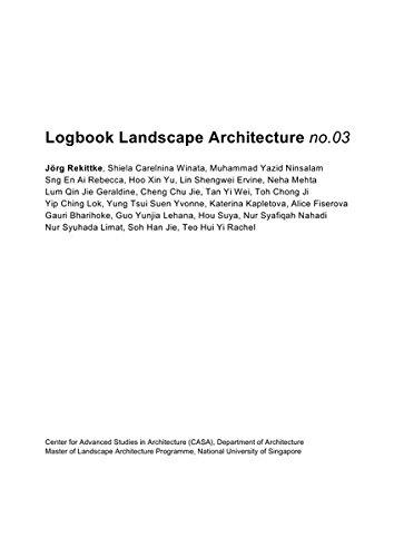 Logbook Landscape Architecture No.03