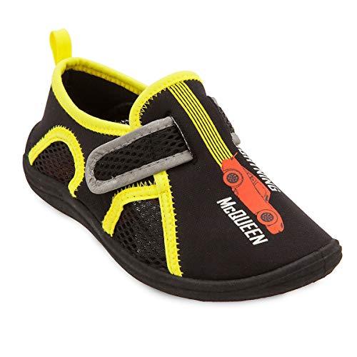 Disney Swim Shoes (Disney Lightning McQueen Swim Shoes for Kids Size 1 Youth)