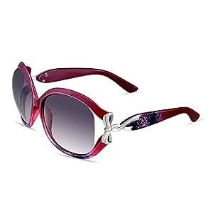 Gafas Gafas de sol antirreflejos antirreflejos ( Color : Rojo )