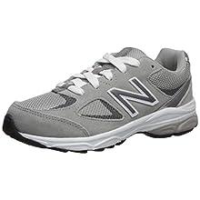 New Balance Kid's 888 V2 Lace-Up Running Shoe, Grey, 6.5 M US Big Kid