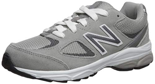 New Balance Boys' 888v2 Running Shoe, Grey/Grey, 3 W US Little Kid