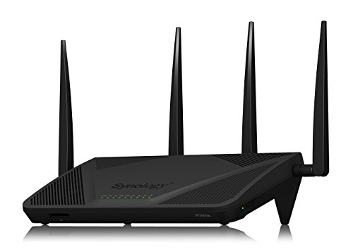 (Synology RT2600ac - 4x4 Dual-Band Gigabit Wi-Fi Router, MU-MIMO, Powerful Parental Controls, Threat Prevention, Bandwidth Management, VPN, Expandable Coverage with mesh Wi-Fi)