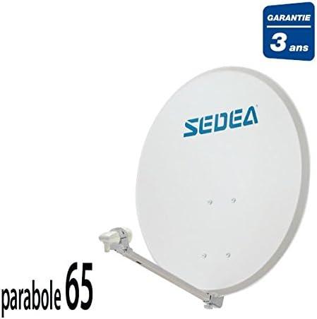 Sedea antena parabólica 65 + LNB 1 TV: Amazon.es: Electrónica