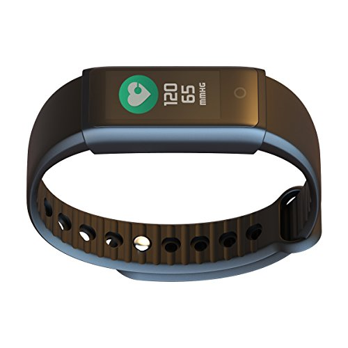 Mo Young 3 Fitness trackers and heart rate monitors by Mokayi, Tracking smart belt sleep monitor, IP65 waterproof, call information and alarm clock alert iOS and Android.