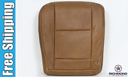 Richmond Auto Upholstery Compatible with 2003-2007 Ford F-250 King Ranch Driver Side Bottom Replacement Leather Seat Cover, King Ranch
