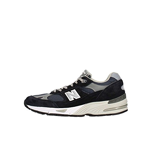 Blue Sneaker Limited Balance New und Mesh Leder Edition 991 Grau Pwp7S