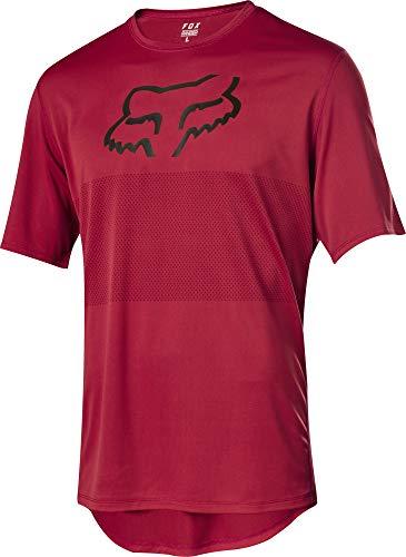Fox Head Mens Ranger SS Foxhead MTB Jersey (Cardinal, XXLarge)