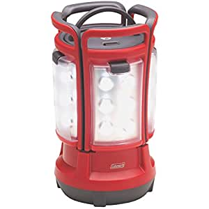 Coleman Quad LED Lantern Special Edition Ultra Bright 280 Lumens, Red