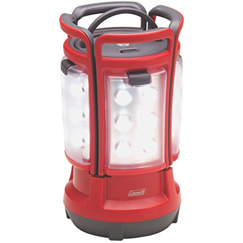 Coleman Quad LED Lantern Special Edition Ultra Bright 190 Lumens, Red Pro Hunter Hanging