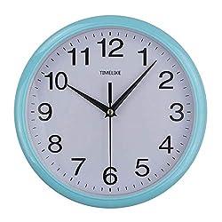WEIYYY 2019 Classic Vintage Round Wall Clock Modern Plasitc Clock Quartz Horloge Retro Wathces