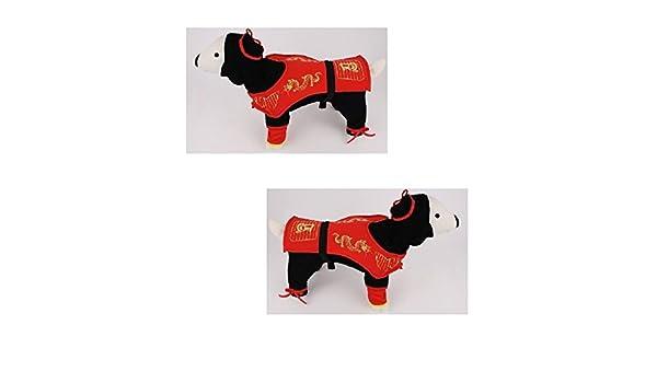 Amazon.com : Dog Costume - DRAGON NINJA COSTUMES Dress Your ...