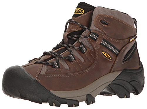 KEEN Men's Targhee II Mid Wide Hiking Shoe, Shiitake/Brindle, 10.5 W US