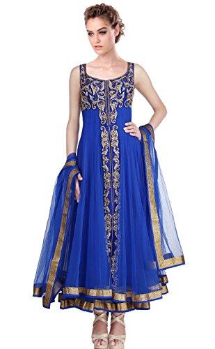 Mishka Women's Designer Anarkali Churidar Kameez XXX-Large - 44