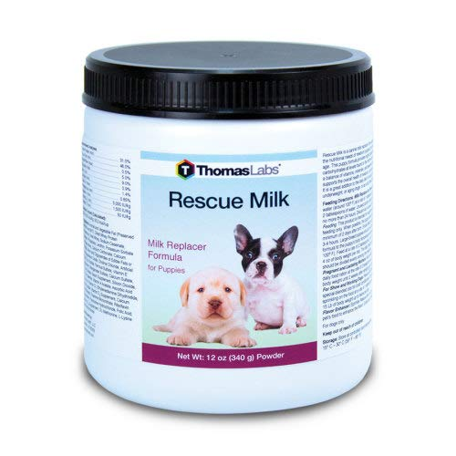 Thomas Labs Rescue Milk for Puppies & Dogs - Puppy Milk Replacer - (Powder, 12 ounces) by Thomas Labs