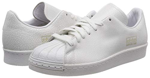 Ftwr Chaussures ftwr Superstar Blanc 80s Homme Gymnastique De White Adidas White ftwr Met gold Met Clean qU1nw