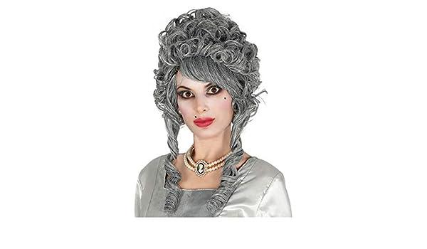 Horror-Shop fantasma barroca gris peluca novia: Amazon.es: Juguetes y juegos