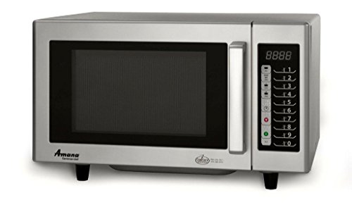 Amana RMS10TS Medium Volume Microwave Oven, 1000W by Amana