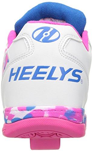 Heelys Propel 2.0 Heren Sneaker Wit / Roze / Blauw