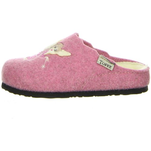 TOFEE Kinder Hausschuhe (Fee) rosa 29