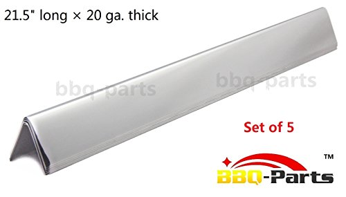 Hongso FB7535 FB7534 7535 7534 Stainless Steel Flavorizer Bars, Set of 5 (21.5