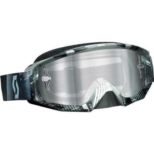 Grey Chrome Lens - Scott Sports Tyrant Goggles with Works Silver Chrome and Clear AFC Lens (Tangent Grey, One Size)