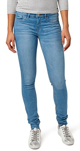 Wash Stone Donna Blue Denim light Tailor Jeans Middle Random Jona 1051 Tom Blau S6PUvwqn