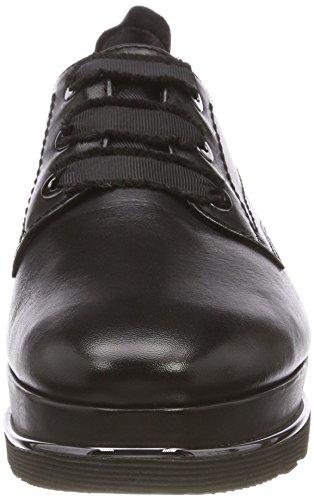 Nero Black Leather Derby Stringate Tamaris 003 Scarpe Donna 23701 w7TYYXq