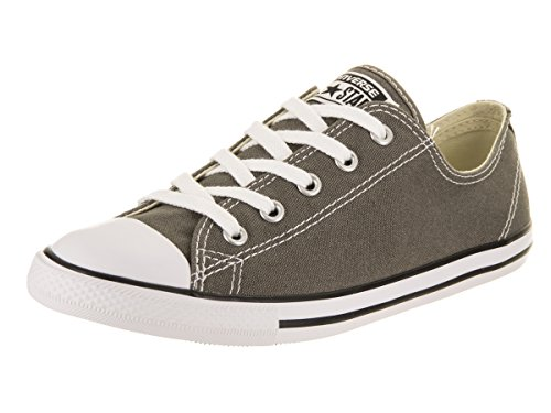 Converse Women's Chuck Taylor All Star Dainty Ox Charcoal Casual Shoe 6.5 Women US