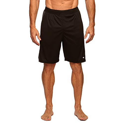 Colosseum Mens Performance Workout Shorts Black - L from Colosseum