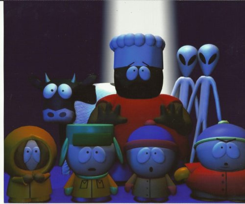 South Park Chef Kyle Kenny Cartman Cow Aliens 8x10 Photo SPK1001