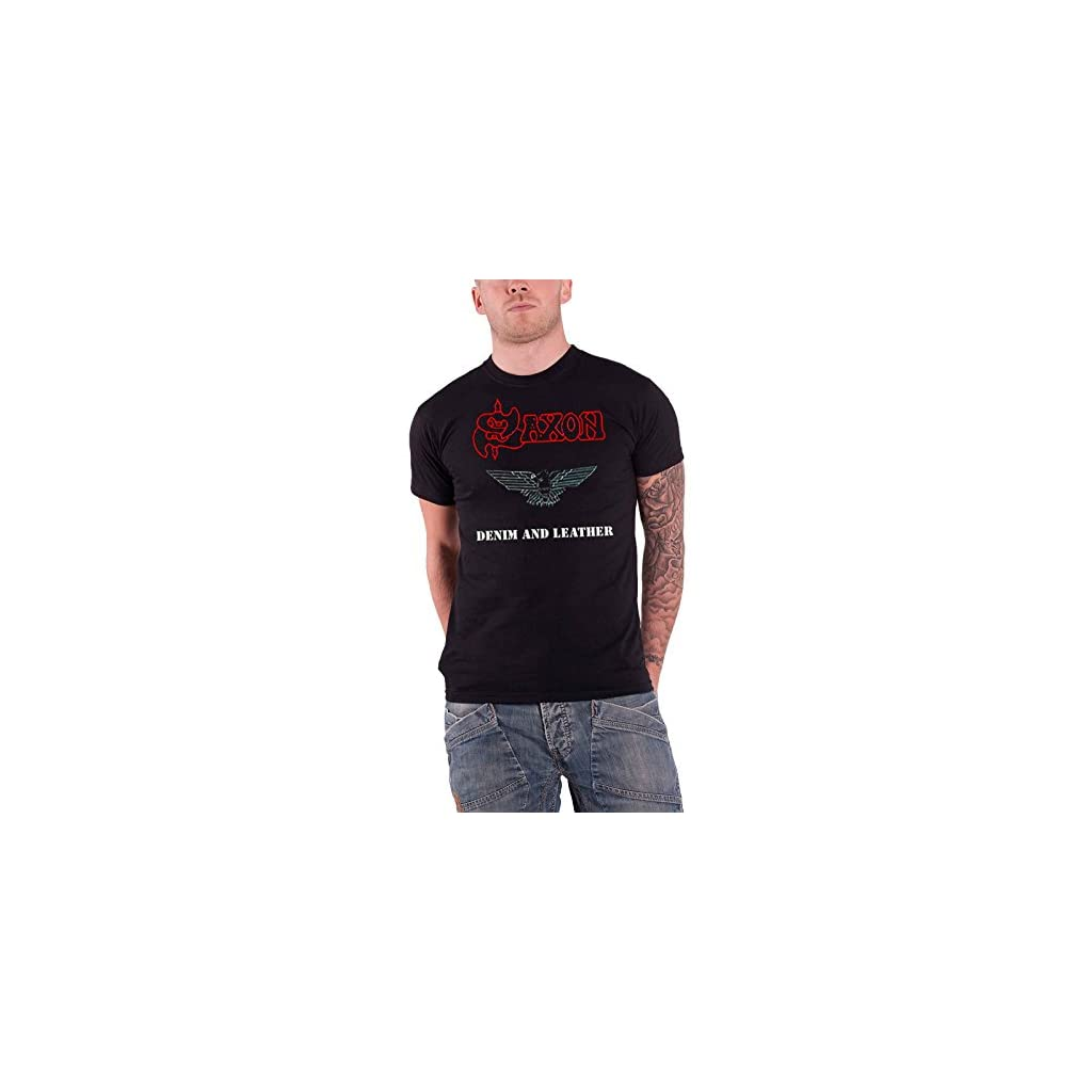 Saxon Logo oficial Camiseta