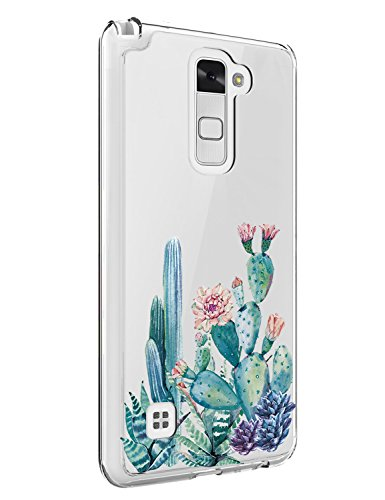 LG Stylo 2 Case,LG Stylus 2 Case,LG Stylo 2 Case with flowers,LUOLNH Slim Shockproof Rose Floral Pattern Soft Flexible TPU Back Cove for LG Stylo 2/Stylus ()