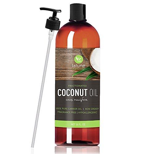 Fractionated Coconut Oil Carrier Oil, Liquid 16 Oz