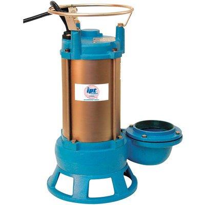 IPT by Gorman-Rupp Submersible Shredder Sewage Pump - 2in. Ports, 7200 GPH, 1 HP, Model# 5760-IPT-95
