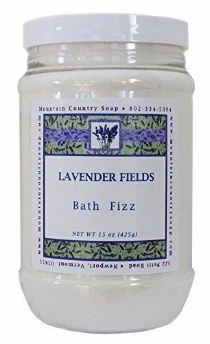 Lavender Fields Aromatherapy Bath Fizz - 15 oz.