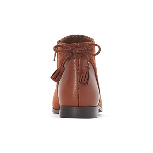 La Redoute Collections Frau Boots mit Schleifendetail Camel