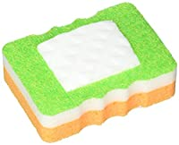 Knock Out! Kitchen 4-in-1 Eraser Sponges, 1.21 Ounce