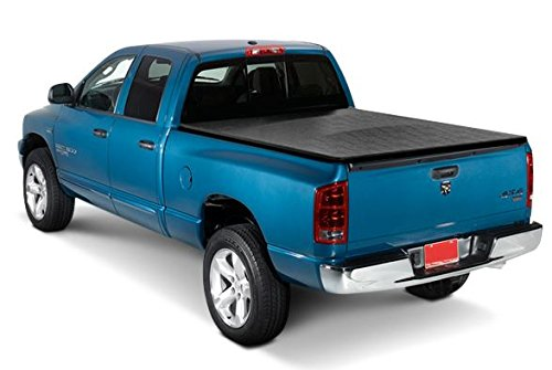 Heavy Duty Roll-Up Soft Tonneau Cover 04-07 CHEVY SILVERADO/GMC SIERRA CREW CAB 5.8 ft BED (05 Silverado Bed Cover compare prices)